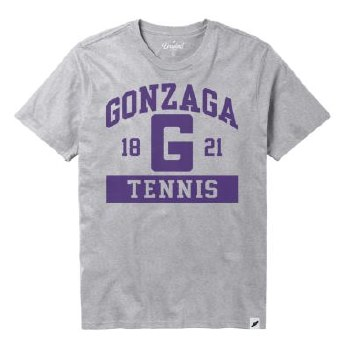 T Shirt Tennis Grey M