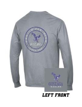 T Shirt Wash L-S Grey S