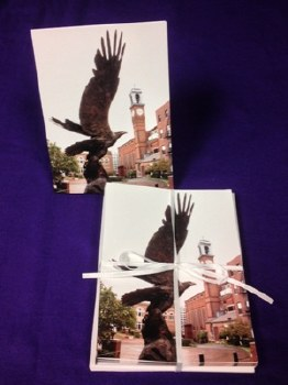Notecards, Eagle Statue