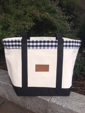 Bag Tote Gingham