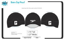 Cap Speedo Dome Black OS