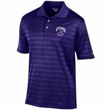 Golf Shirt Chp Text Purple S