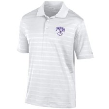 Golf Shirt Chp Text White L