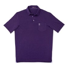 Golf Shirt J-O Harvey Purple M