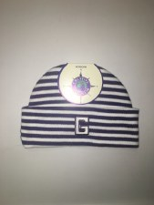 Hat Striped Infant P 0-3 mo