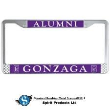 License Plate Alumni