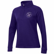 QTR Zip Ladies Relax Purple S
