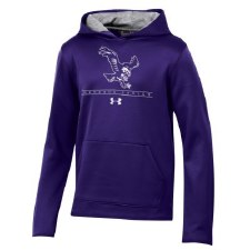 Sweatshirt UA Yth Arm Purple Y