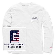 T Shirt L/S Flag W S