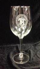 Glass Wine Stemmed Seal