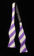 Tie, Bow Wide Stripe