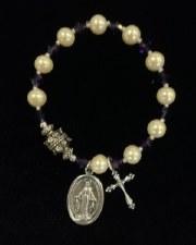 Bracelet, Rosary Pearl