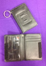 Wallet, black leather