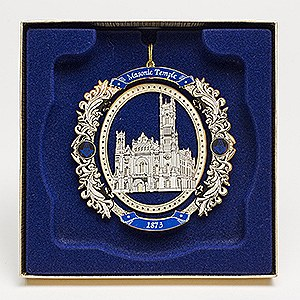 Brass Masonic Temple Ornament was issued in 2009