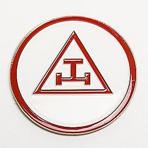 Royal Arch Chapter Auto Emblem