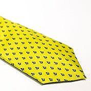 Grand Master's Yellow Neck Tie
