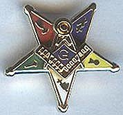 Eastern Star Past Patron pin