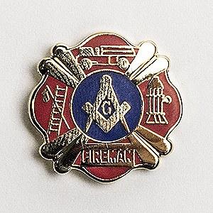 Fireman Lapel Pin