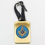 Blue Lodge Brass Luggage Tag