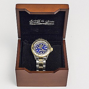 Masonic Stainless Steel Two-Toned  Watch