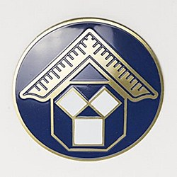 Pennsylvania Past Master Auto Emblem