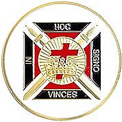 Knights Templar Auto Emblem
