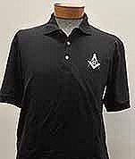 Black Golf Shirt Large