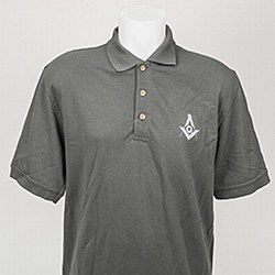 Graphite Gray Golf Shirt