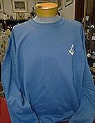 Indigo Blue Sweatshirt Large