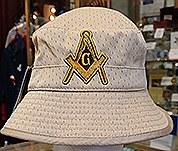 Floppy hat/khaki mesh