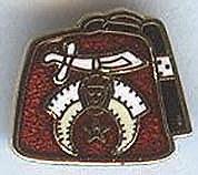 Shrine Fez Lapel Pin