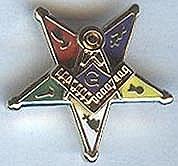 Eastern Star Past Patron pin