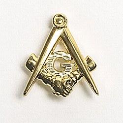Mason's Helping Masons Lapel Pin