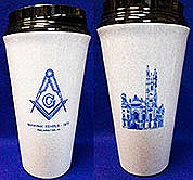 Insulated beverage tumbler