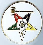 O.E.S. Past Matron Auto Emblem