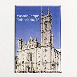 Masonic Temple Magnet