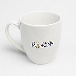 PA Masons White Ceramic Mug