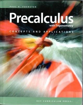 Precalculus w/Trig EXCELLENT