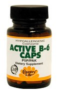 Country Life Coenzyme Active B6 50 milligrams 30 capsules