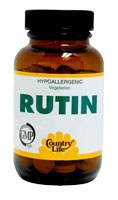 Country Life Rutin 500 milligrams 50 vegetarian tablets