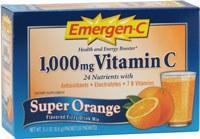 Alacer Super Orange Emergen-C, 30 packets
