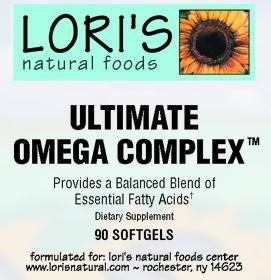 Lori's Ultimate Omega Complex 90 soft-gels