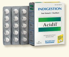 Boiron Acidil Indigestion, 60 tablets