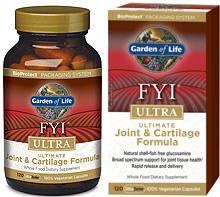 Garden of Life FYI ULTRA Ultimate Joint & Cartilage Formula, 120 vegetarian capsules