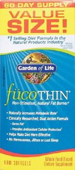 Garden of Life FucoThin, 90 soft gels