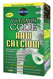 Garden of Life Vitamin Code Raw Calcium, 120 vegie caps