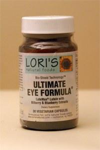 Lori's Ultimate Eye Formula 30 vegetarian capsules