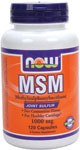 NOW MSM 1000mg 120 Caps