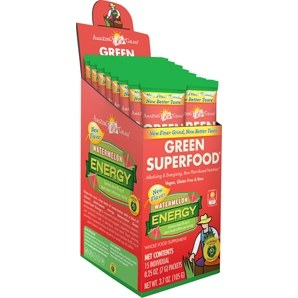 Amazing Grass Watermelon Energy Green Superfood, single serving packet