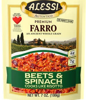 Alessi Farro with Beets, 7 oz.